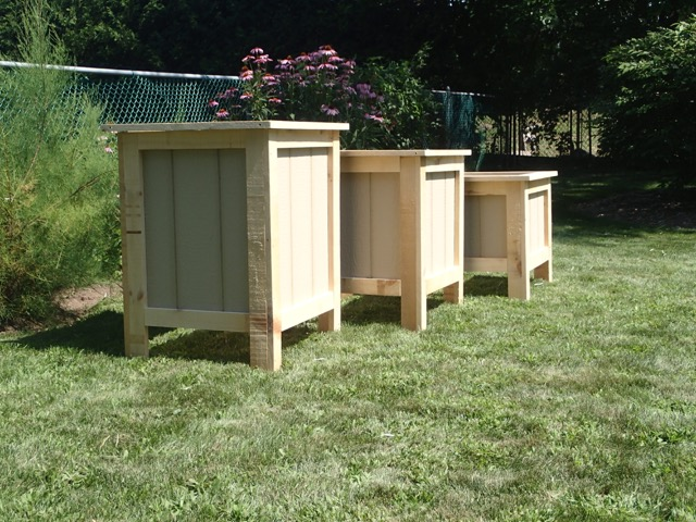 Large And Small Raised Garden Beds