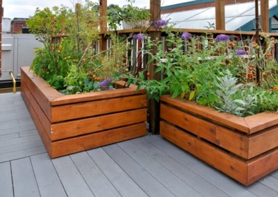 Garden Bed On Deck
