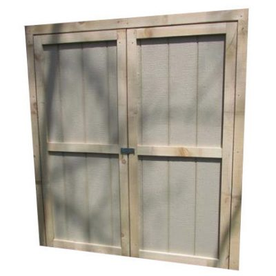 Web Wood Double Door