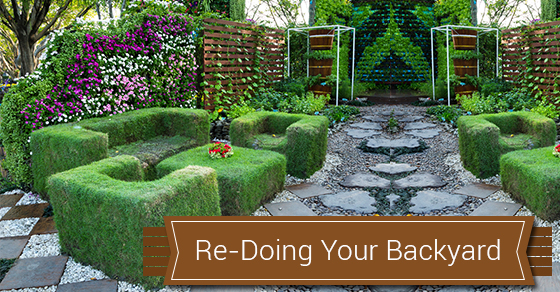 Backyard Re-Treatment Ideas