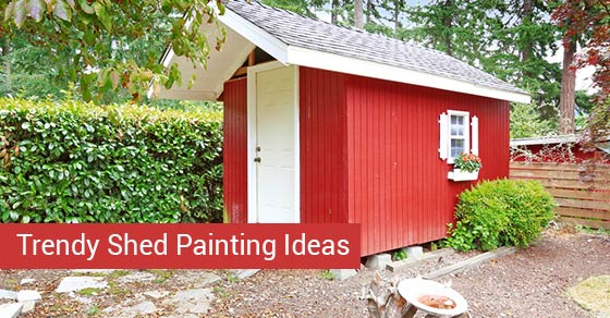 Trendy Shed Painting Ideas