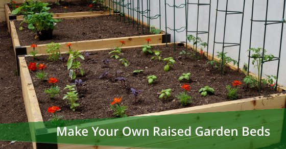 Make Your Own Raised Garden Beds