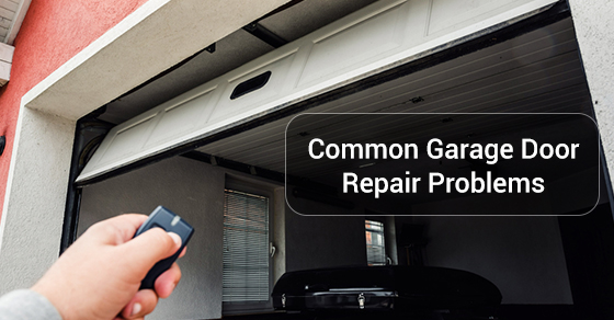 Common Garage Door Repair Problems