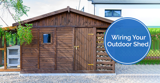 Wiring Your Outdoor Shed