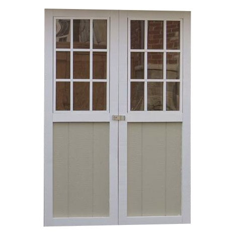 Upgrade to windows for double doors