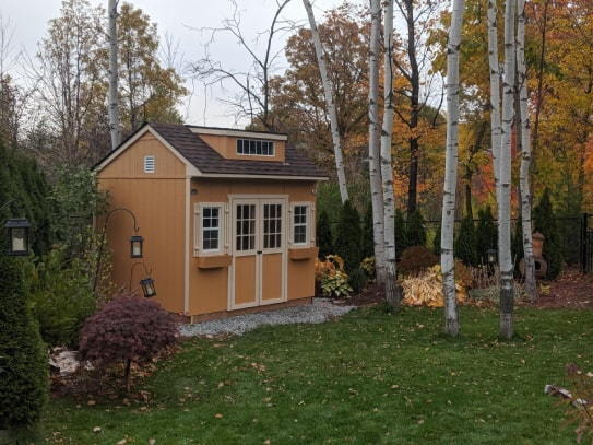 Custom Brown Bobcaygeon Style Shed