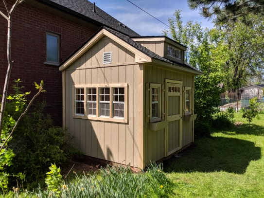 Custom Wooden Bobcaygeon Style Shed