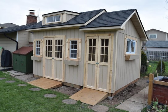 Custom Bobcaygeon Shed