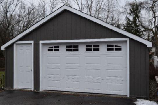 Custom Caribou Style Garage 04