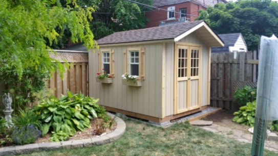 Custom Wooden Highland Gable Shed