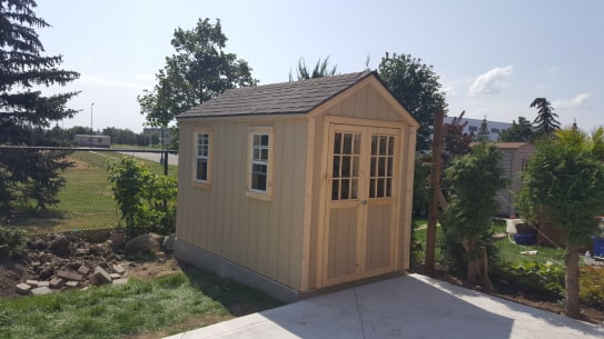 Wooden Highland Gable Shed